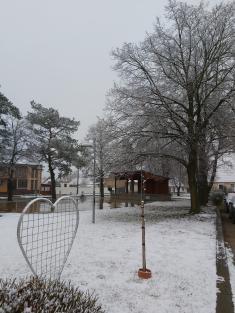 Sněhová nadílka naJosefa 19.3.2021